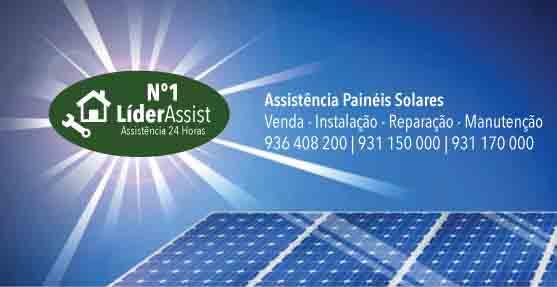 Assistência Painéis Solares Solahart Santa Maria de Belém,