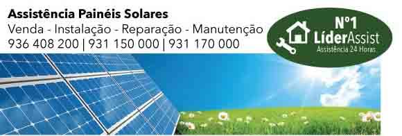 Assistência Painéis Solares Loures