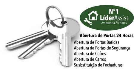 Técnico de abertura de portas e substituição de fechadura